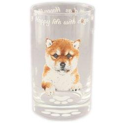 画像1: わんコレ ガラスタンブラー 【S13】柴犬
